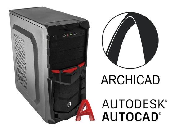 Cpu Edition Autocad Core I7 7700k Ssd 120gb 8gb Gts 2gb 500w