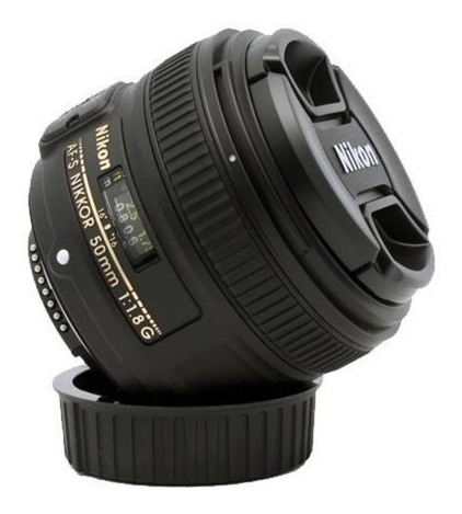 Câmera Nikon D5300 + Lente Nikon 50mm 1.8