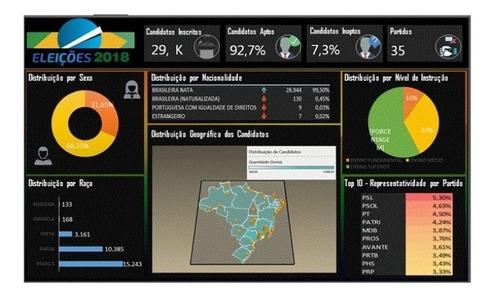 Imagem 1 de 1 de Planilhas Deshboard E Infográfico Editável.