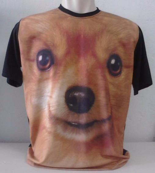 Camiseta, Regata, Baby Look - Animal, Cachorro, 3d-chihuahua