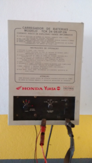 Carregador E Testador De Bateria Para Motos Tectrol Honda