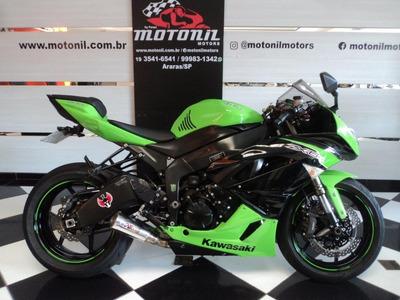 Kawasaki Ninja Zx6 R Verde 2012