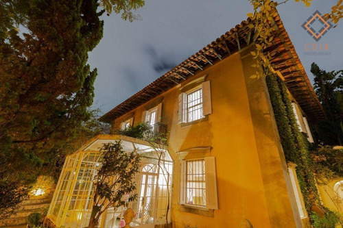 Imagem 1 de 30 de Casa Com 2 Dormitórios Para Alugar, 450 M² Por R$ 26.000,00/mês - Jardim Europa - São Paulo/sp - Ca3280