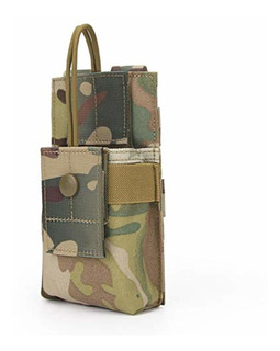 Aoutacc Tactical Molle Short Radio Pouch,