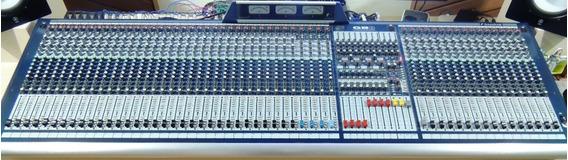 Mesa De Som Soundcraft Gb8 48 Canais