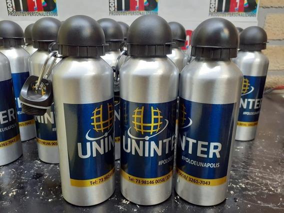 30 Squeezes Garrafa De Alumínio Personalizado Garrafinha