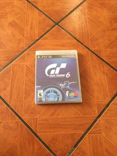 Juego Ps3 Gran Turismo 6