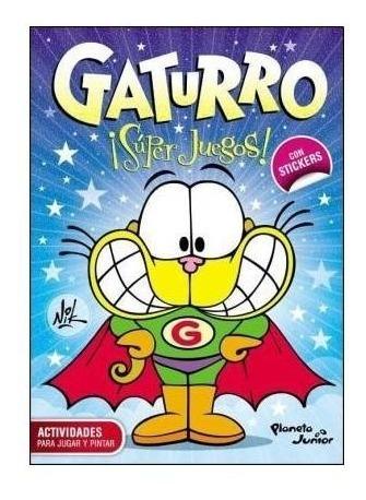 Imagen 1 de 2 de Gaturro Super Juegos (con Stickers) - Nik