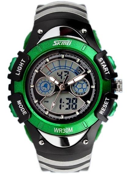 Relógio Infantil Esportivo Analógico Digital Skmei Promoção