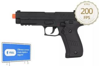 Pistola Airsoft Elétrica Cyma Cm122 Modelo Sig Sauer P226