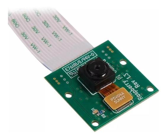 Camera Pra Microcontrolador Raspberry Pi 3 B 5mp Cabo Flat