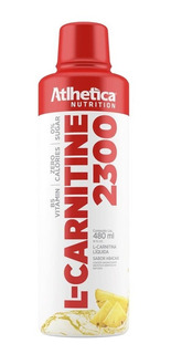 L- Carnitine Carnitina 2300 Liquida 480ml - Atlhetica