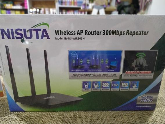 Router Repetidor Nisuta Triple Antena