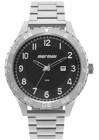 Relógio Morm Masculino El Basic Prata - Mo2115ba/1p