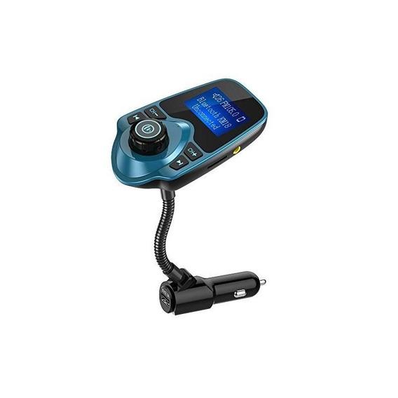 Nulaxy In-car Bluetooth Transmisor Fm Radio Adaptador De Coc