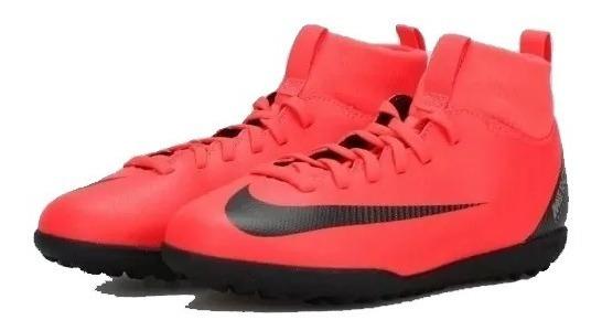 Chuteira Nike Mercurial Jr Superfly 6 Club Cr7 Tf + Nf