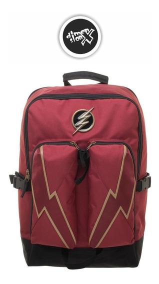 Mochila The Flash Oficial Dc Comics Bioworld Backpack