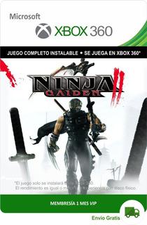Ninja Gaiden 2 Xbox 360 * Envío Gratis *
