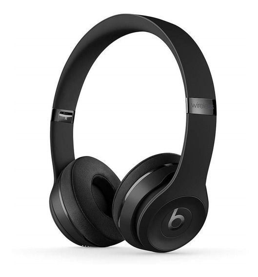 Fone Bluetooth Beats Solo3 Wireless Especial Edition Black
