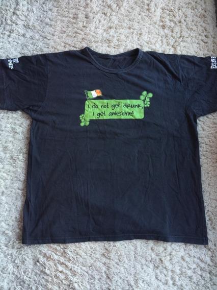 Camiseta Masculina Comemorativa Guinness Saint Patricks Day 2013 Tamanho Xxl Cor Preta Eisebahn Ótimo Estado Impecável!