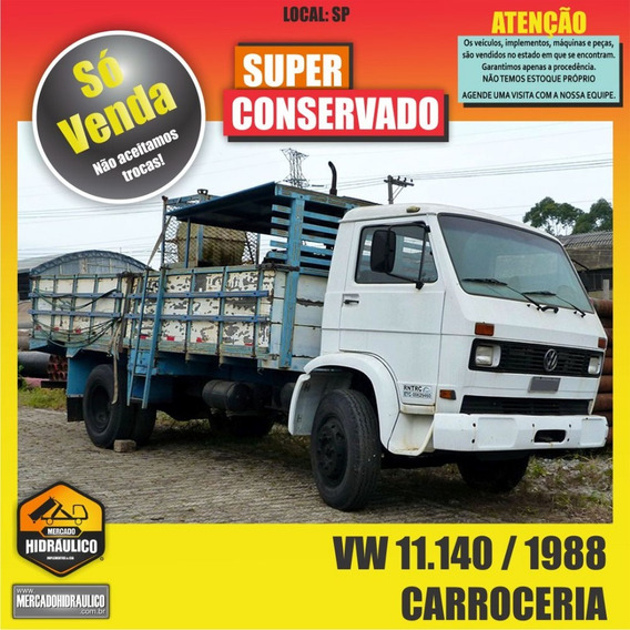 Vw 11.140 / 1988 - Carroceria