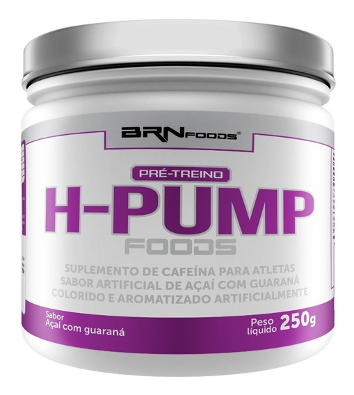 Termogenico H-pump 250g - Brn Foods - 3 = Frete Grátis!