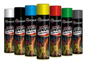 Tinta Spray Radcolor Caixa Com 6 Unidades De Cores Sortidas