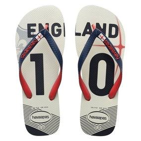 b9c36b14834caa Chinelo Sandália Havaianas Team Inglaterra Original Promoção