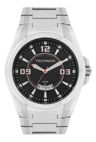 Relógio Unissex Technos Racer Prata - Original