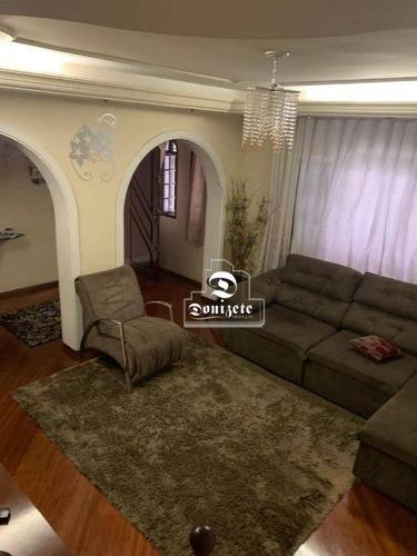 Sobrado Com 2 Dormitórios À Venda, 298 M² Por R$ 880.000,00 - Utinga - Santo André/sp - So3564