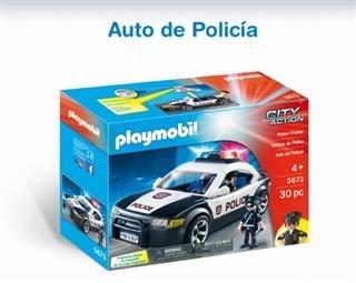 Auto De Policia- Play Mobil