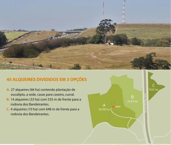 Vendo Fazenda Lindíssima 45 Alqueires, Limeira, Ao Lado Da Bandeirantes. - Fa0019