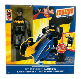 Batman Knight Runner - Original - Vehículo Batman + Muñeco
