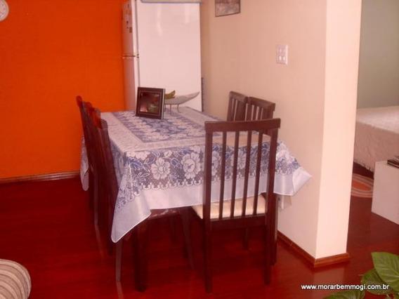 Apartamento Para Venda Em Mogi Das Cruzes, Cesar De Sousa, 2 Dormitórios, 1 Banheiro, 1 Vaga - 1782
