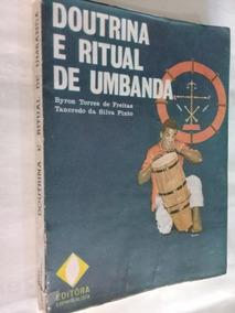 Livro - Doutrina E Ritual De Umbanda-tancredo Da Silva Pinto