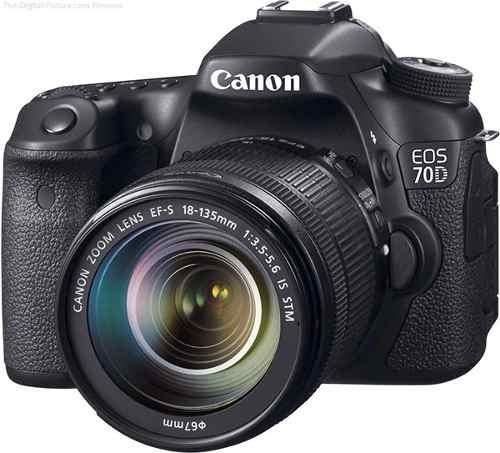 Câmera Canon Eos 70d Kit 18-135 Stm P/ Entrega