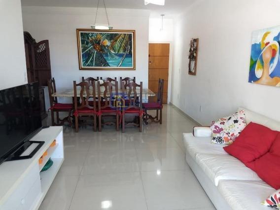 Apartamento Para Venda Em Cabo Frio, Vila Nova, 3 Dormitórios, 1 Suíte, 2 Banheiros, 2 Vagas - Apart336_1-1332427
