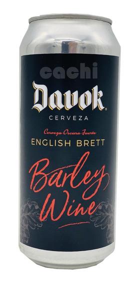 Cerveza Davok Barley Wine 500ml Lata Edición Limitada