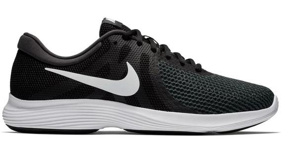 Tênis Nike Revolution 4 Masculino - Preto E Branco