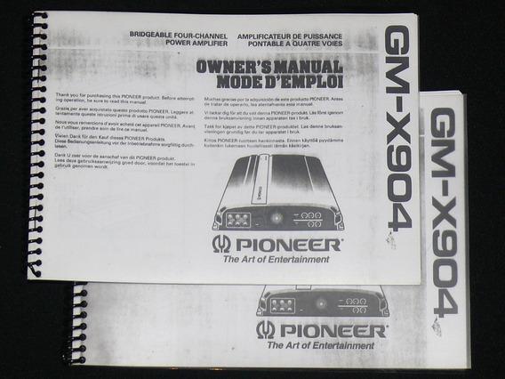 Manual Módulo Pioneer Gm-x904