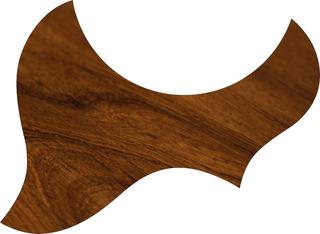 Escudo Palheteira Resinada Violão Aço Jumbo Sônica Wood 5