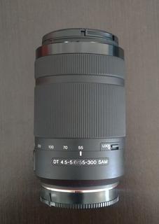 Lente Sony Sam 55-300mm Montura A