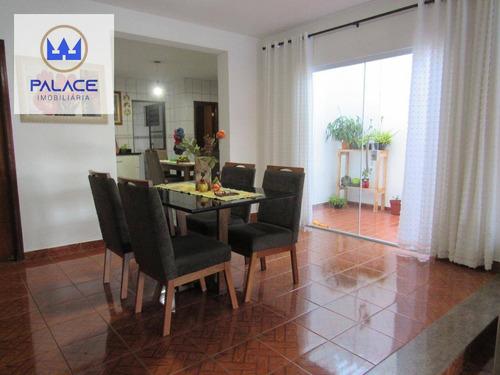 Casa Com 3 Dormitórios À Venda, 200 M² Por R$ 535.000,00 - Loteamento Santa Rosa - Piracicaba/sp - Ca0072