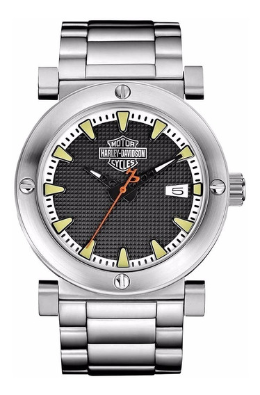 Reloj Harley Davidson Black Label 76b165 De Hombre E-watch