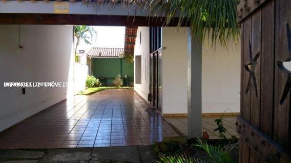 Casa A Locação Em Itanhaém, Cibratel I, 4 Dormitórios, 3 Suítes, 5 Banheiros, 8 Vagas - Rbl 0193
