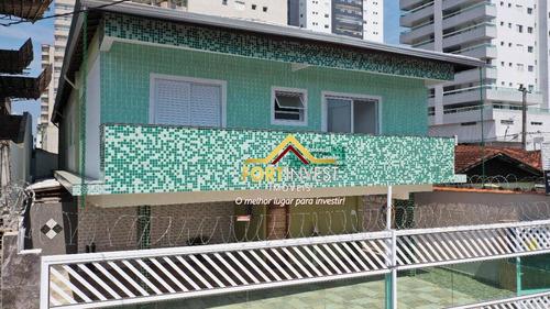 Casa À Venda, 55 M² Por R$ 240.000,00 - Tupi - Praia Grande/sp - Ca0192