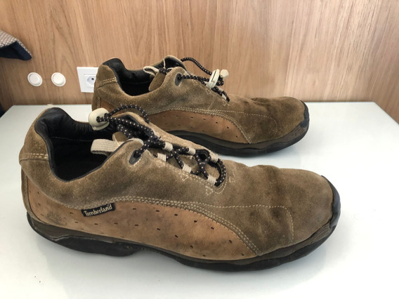 Timberland Couro Natural 43 Br 11 Us