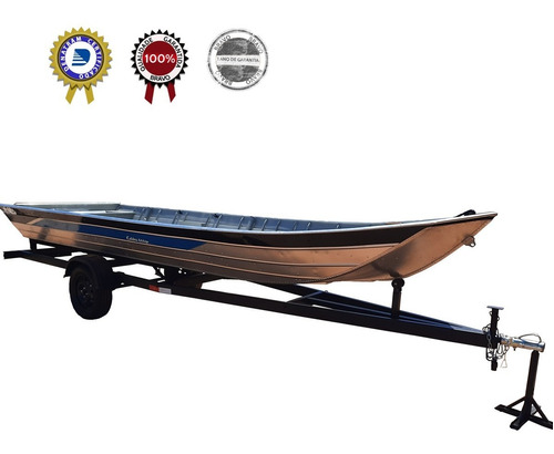 Carreta Reboque Barco Alumínio Pescaria  6 M Zero Km