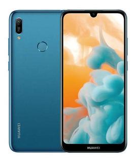 Celular Huawei Y6 2019 Azul 32gb Garantia Telcel Nacional