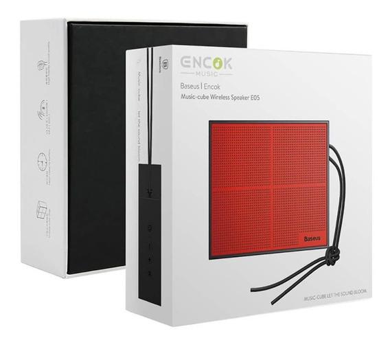 Caixa De Som Bluetooth Baseus Encok E05